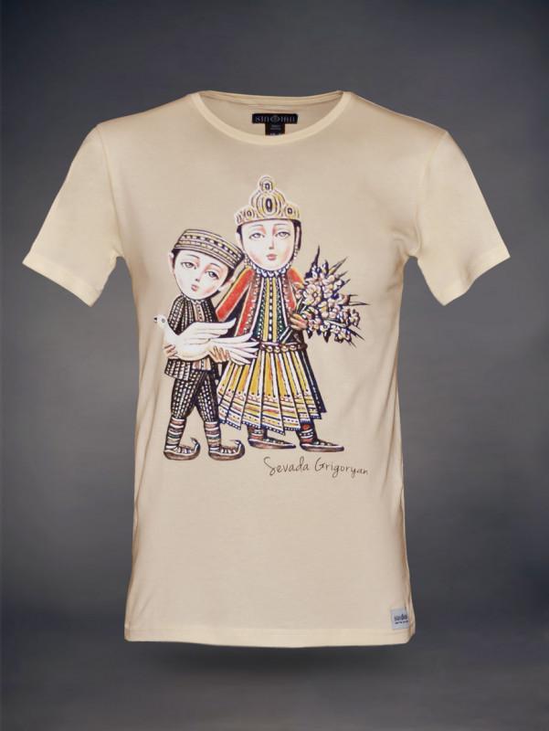 Sevada T-Shirt mit U-Ausschnitt