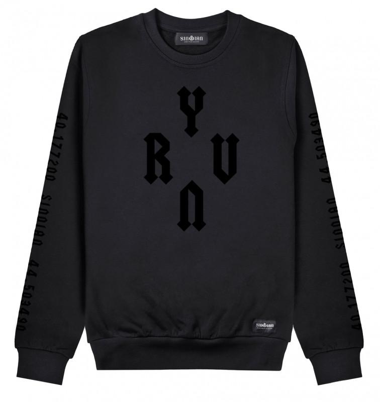 All Black YRVN Sweatshirt