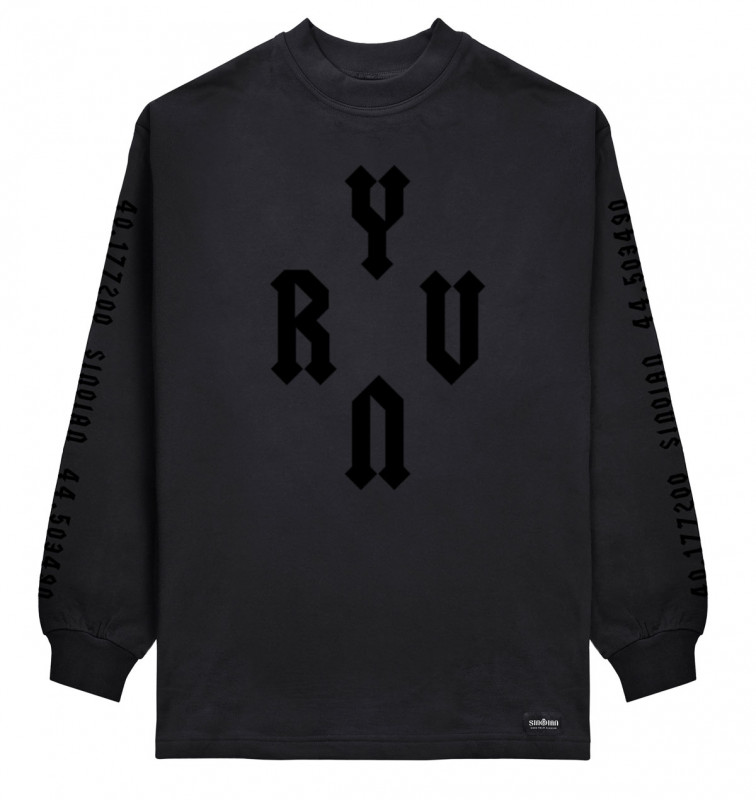 All Black YRVN Sweatshirt